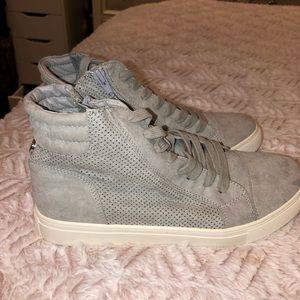 Steve Madden grey sneakers NEW